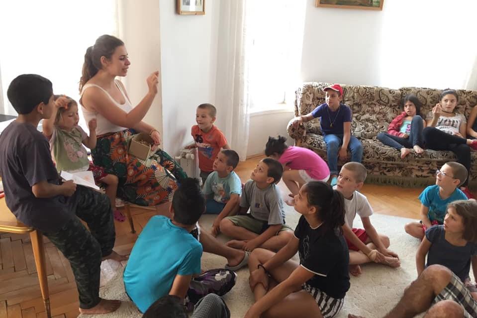 Gyerektábor a Zsoboki Bethesda Gyermekotthonban